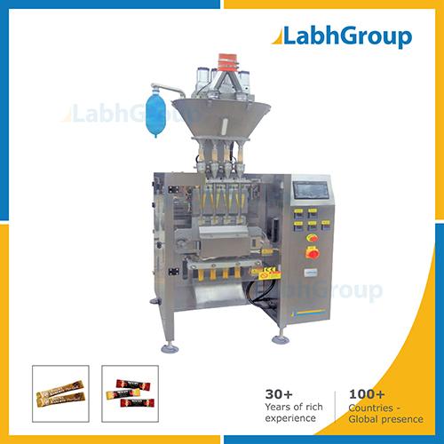 Multiline Sachet Packing Machine For Coffee Powder
