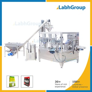 Milk Nutrition Powder Pick Fill Seal Pouch Packing Machine