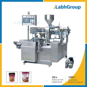 Ginger Tomato Onion Paste Preformed Pouch Packing Machine