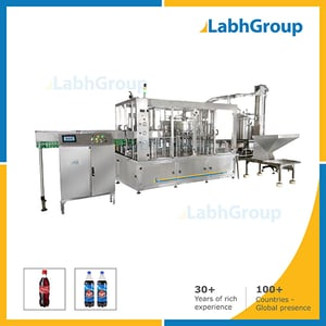 Bottle Filling Line Machine For Aerated Carbonated Drink