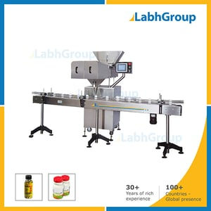 Pills Tablets Capsule Container Filling Packing Machine