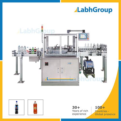 Bopp Hot Melt Glue Labelling Machine For Plastic Bottles