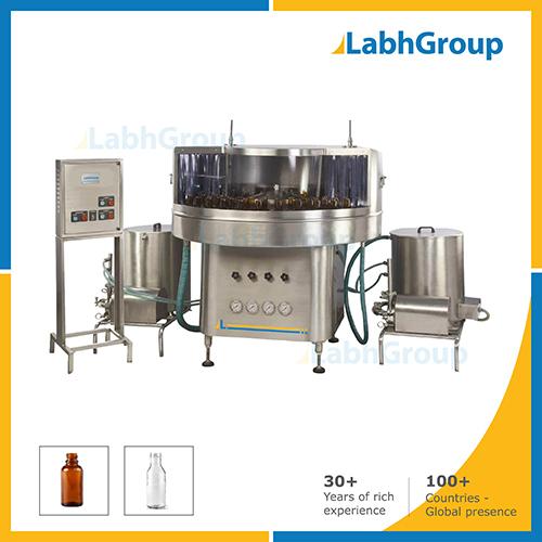 Rotary Plastic And Glass Bottle Washing Machine