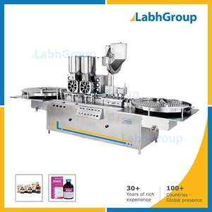 High Speed Injectable Powder Filling Packing Machine