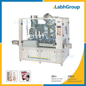 High Speed Dry Syrup Bottle Filling And Sealing Machine