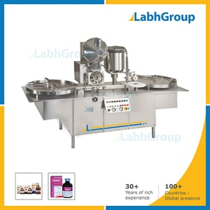 Vacuum Dry Syrup Bottle Filling Packing Machine