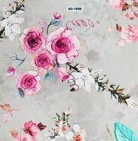 Velvet Printed Fabric