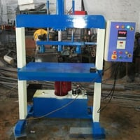 Hydraulic Double Die Paper Plate Making Machine