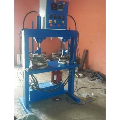 Hydraulic Double Die Paper Thali Making Machine