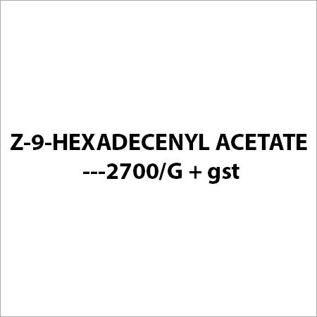 Z-9-HEXADECENYL ACETATE ---2700 G + gst
