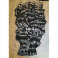Deep Wavy Weft Indian Hair