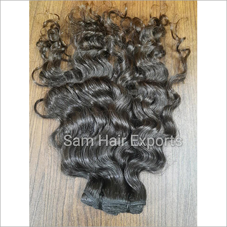 Curly Weft Human Hair