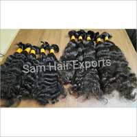 Virgin Bulk Curly Hair