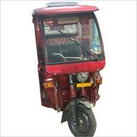 Passenger Red E-Rickshaw