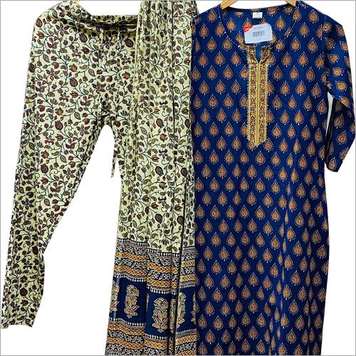 Ladies Printed Palazzo Suit