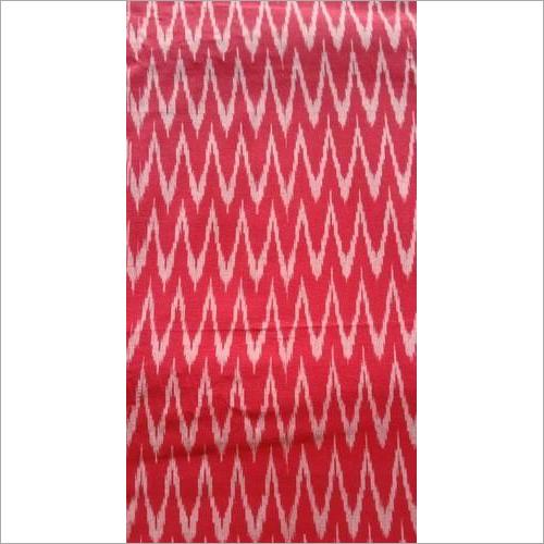 Cotton Printed Ikat Fabric