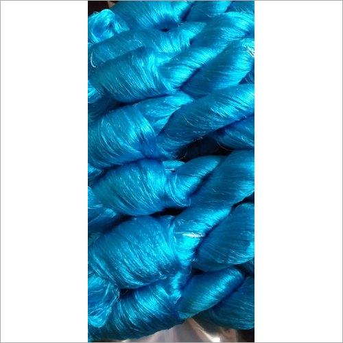 Blue Silk Yarn