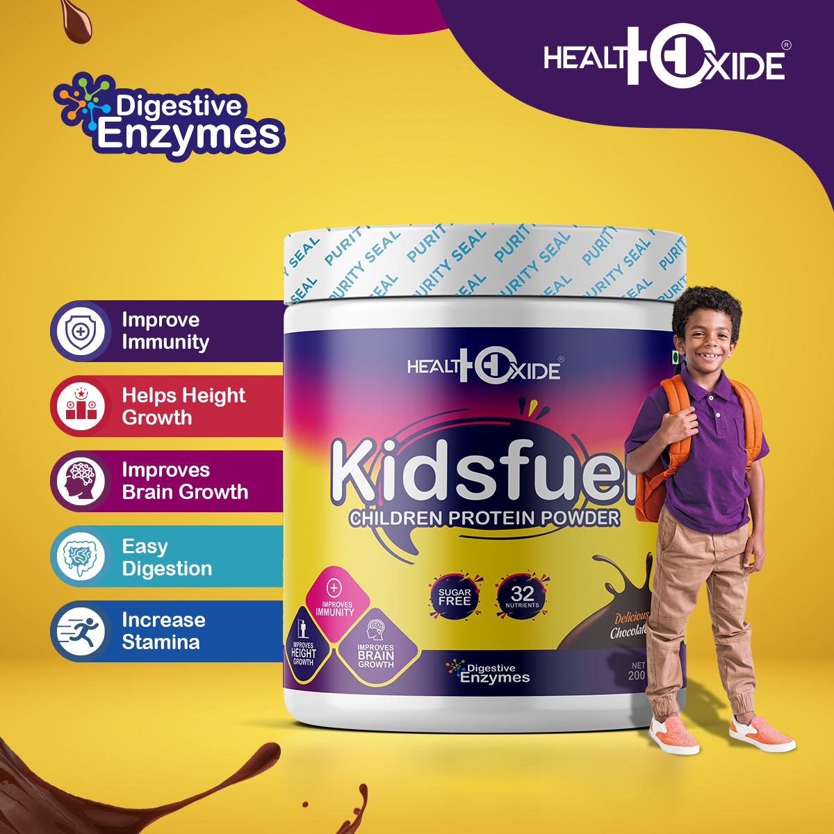 Kidsfuel 200 Gm  Chocolate Flavor