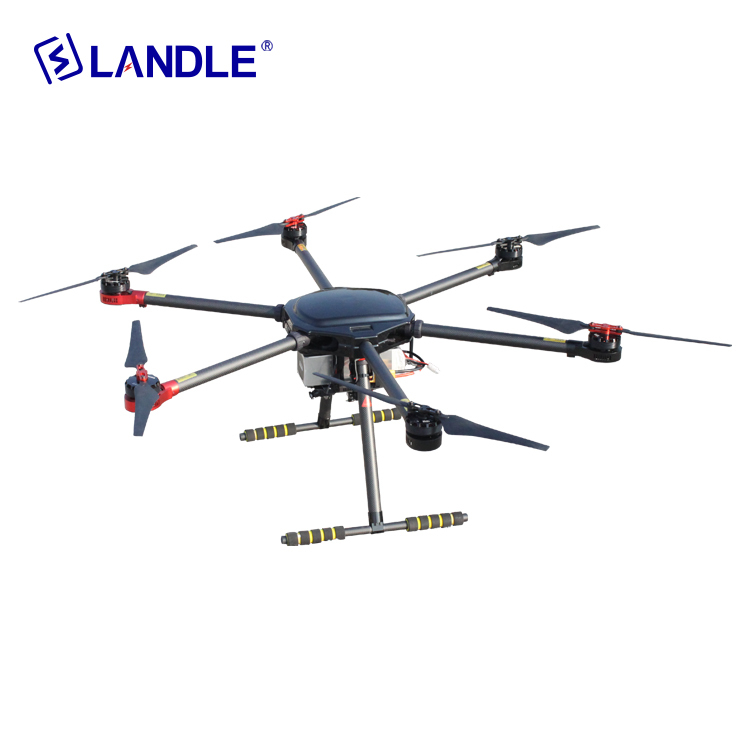 Hypld-6 Professional 6 Spirals Wing Drone For Power Line Construction