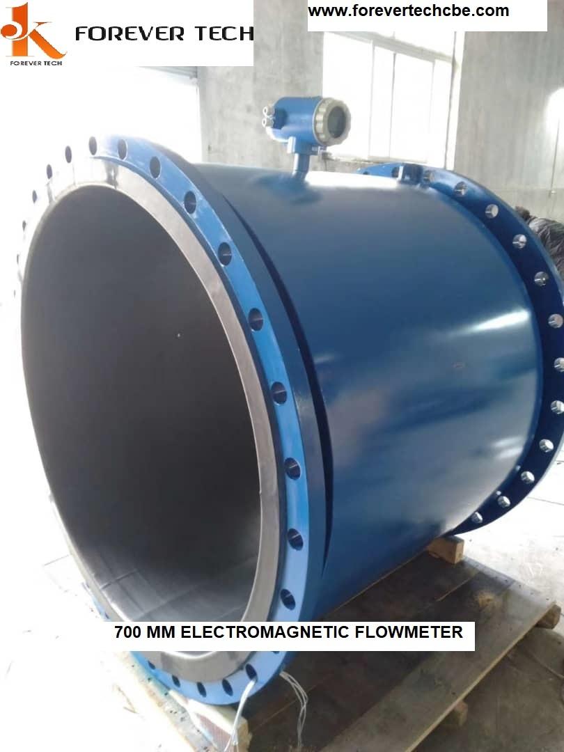 Large Size Electromagnetic Flowmeter