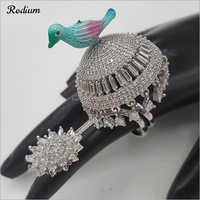 Rodium Finger Ring
