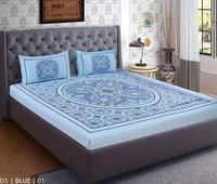 100% Cotton Plain Bedsheet
