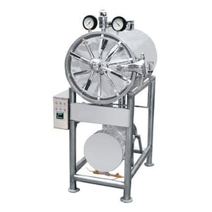 Stainless Steel Semi Automatic Horizontal Autoclave