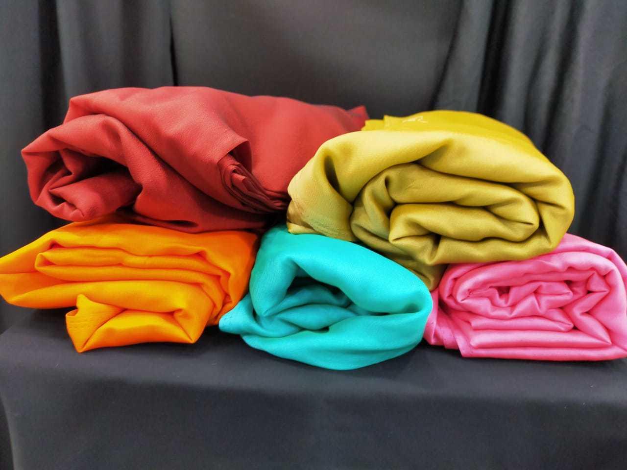 Polyster Rangoli Fabric