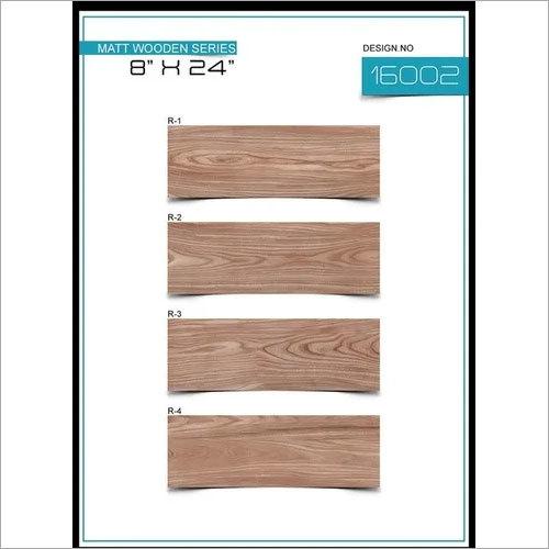 Matt wooden tiles