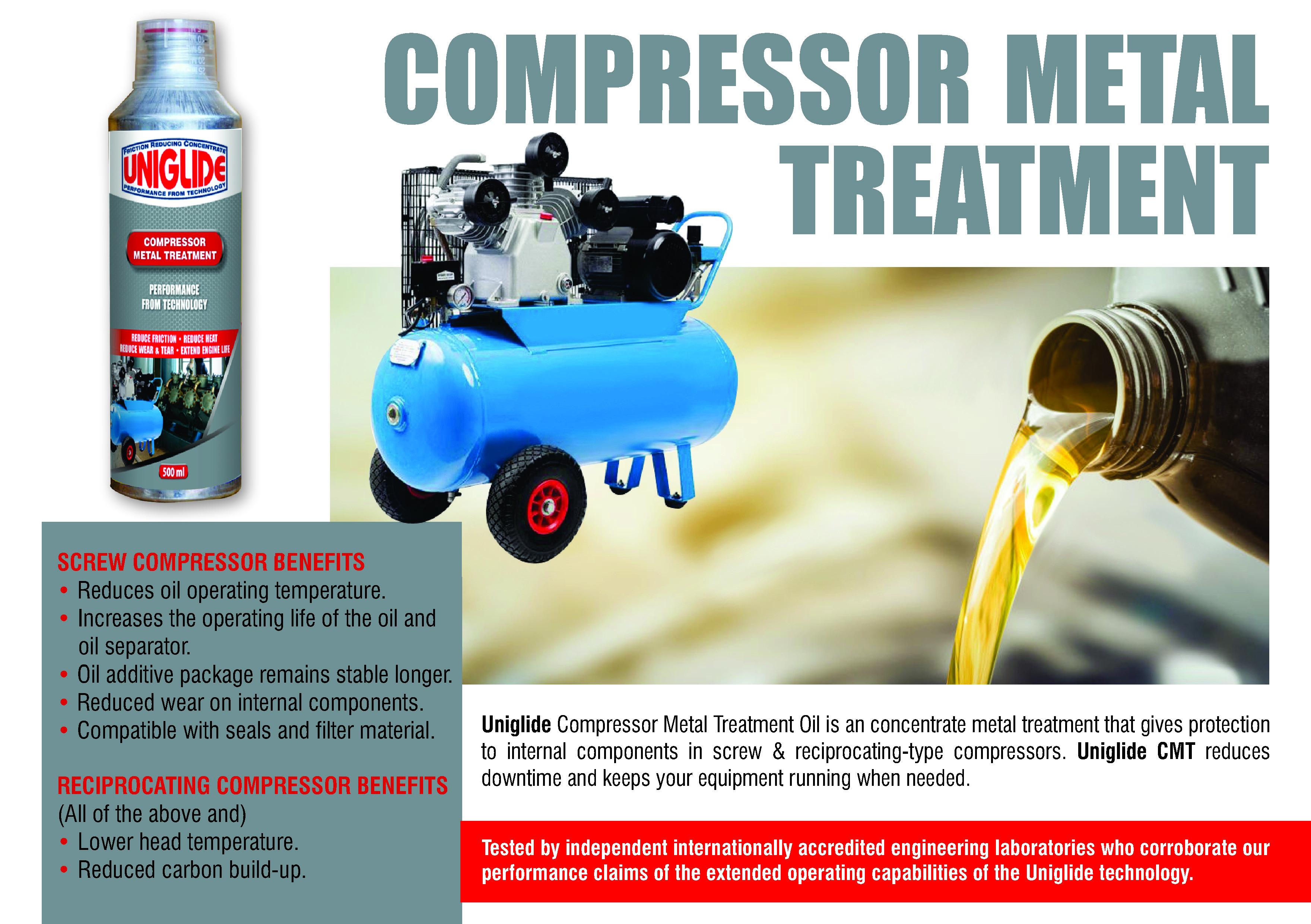 Compressor Metal Treatment Oil