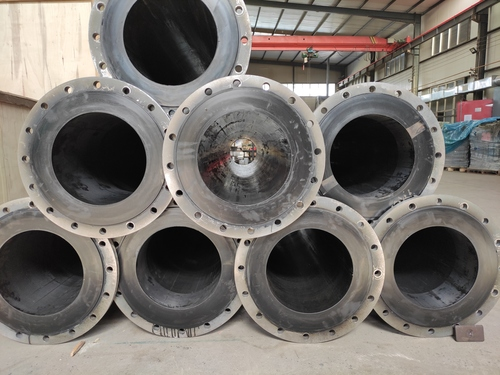 Rubber Lined Steel Pipe