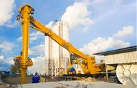 Cement ship unloader combine cement weighing hopper and the screw pump