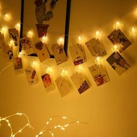 Heart Shape Photo Clip Lights