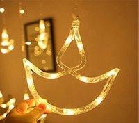 Diya Curtain Lights