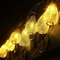 16 Lamp Bulb Shaped Metal Lights