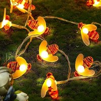 16 Lamp Honeybee Fairy Lights