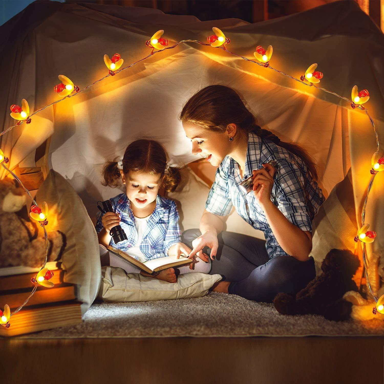 16 Lamp Honeybee Fairy Lights