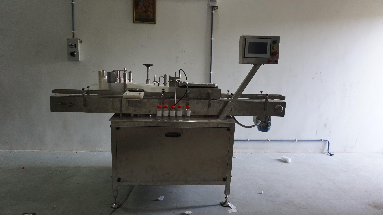 2 Side Labeling Machine