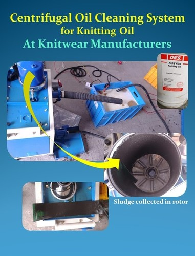 Centrifugal Cleaning System For Knitting Oil - Ocs Models