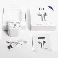 TWS i12 Bluetooth Headset Earphones Wireless Earbuds