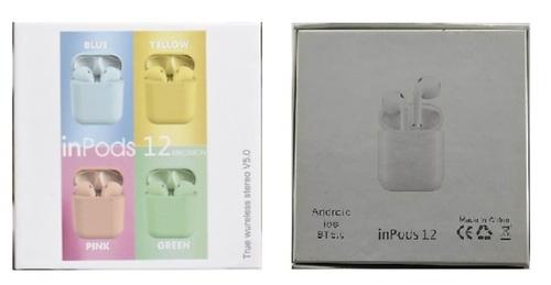 Inpods I12 Bluetooth Headset