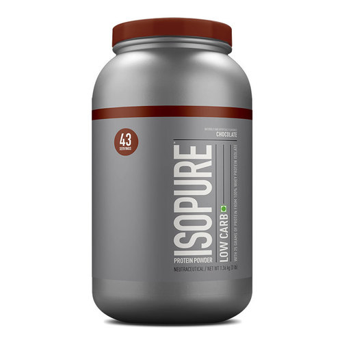 Isopure Low Carb 100% Whey Protein Isolate 3 Lbs