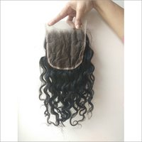 Unprocessed Curly Lace Closure 4x4