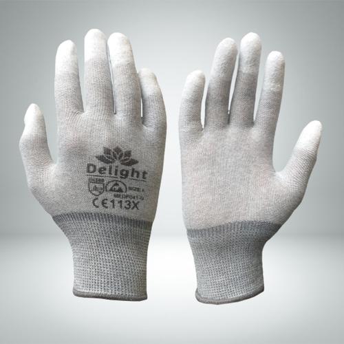 Esd Finger Coated Gloves
