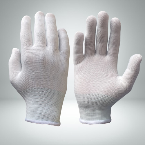 Nylon Knitted Gloves 13 G