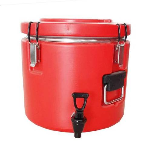 Insulated Round Container With Tap (10 Ltr.)