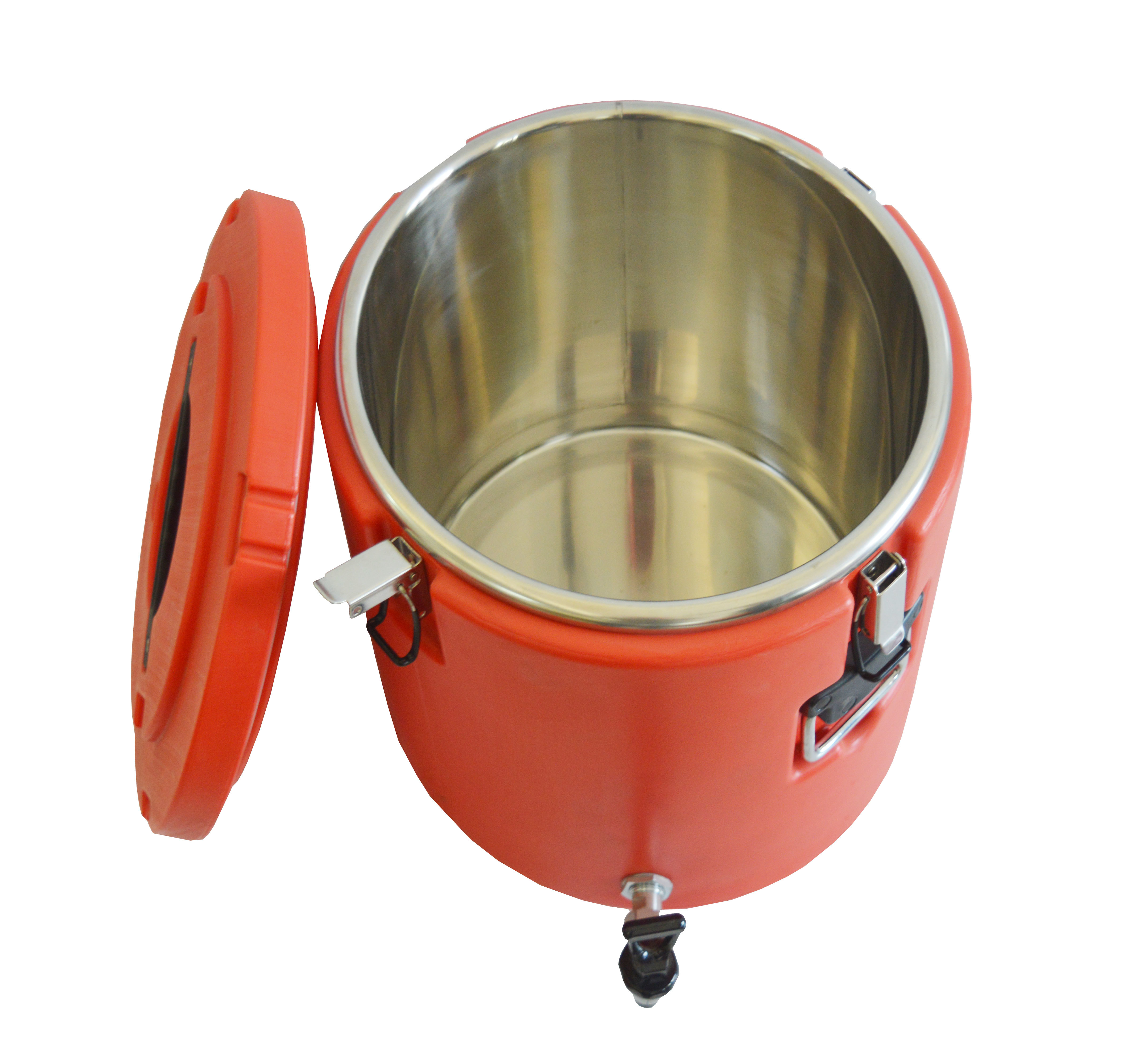 Insulated Round Container With Tap (32 Ltr.)