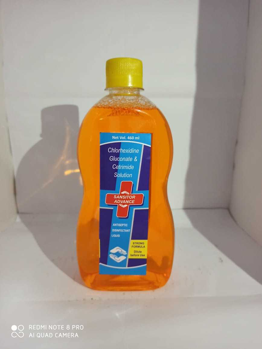 Sansitor Advance Antiseptic Disinfectant Liquid
