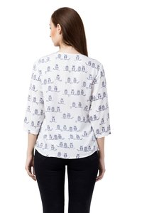 Printed Top For Women
