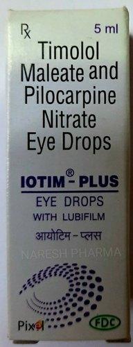 Timolol Maleate 5 Mg & Pilocarpine Hydrochloride 20 Mg Ophthalmic Solution 5 Ml